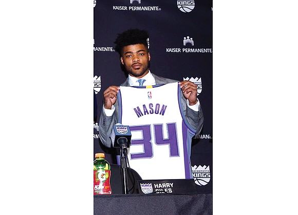 Well, some things are better shown than said — like Frank Mason III's extraordinary ability to pass and shoot a ...
