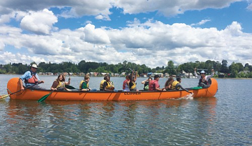 Free guided big canoe excursions along the lower Columbia River and its tributaries started up last week and will continue ...