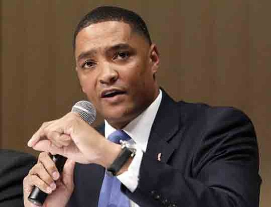 Congressional Black Caucus Chairman Cedric Richmond (D-La.) rejected an offer from the White House to meet with all 49 members ...