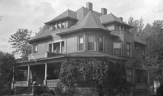 The Loughran house at 903 Western Ave. was built by Michael Loughran and is currently under renovation.