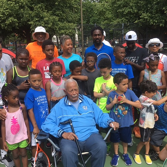 It's not too late to sign up for the David Dinkins Tennis Club, held every Saturday morning, 9 a.m. to ...