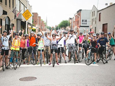 The third annual Bikes & Beers event celebrating the biking community in Baltimore went off without a hitch on Saturday, ...