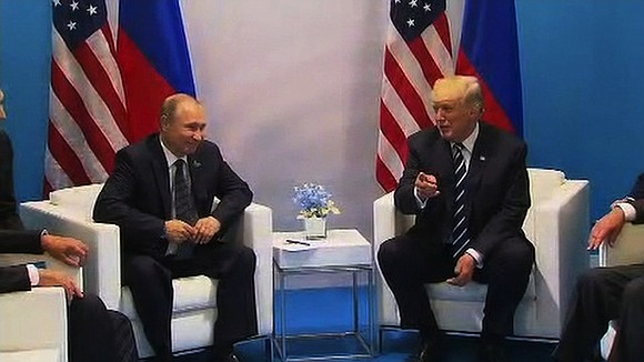 President Donald Trump and his Russian counterpart, Vladimir Putin, spoke for a second time on July 7 in a previously ...