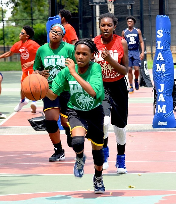 The Slam Jam Girls Summer Basketball Classic will once again host their league for junior high school girl student athletes ...
