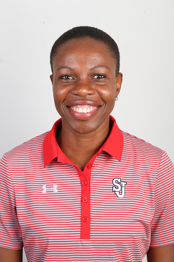 In her job as the sprints and hurdles coach at St. John's University, Aliann Pompey shares her knowledge of track ...