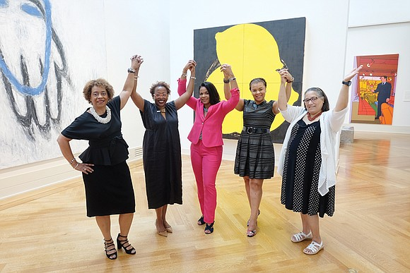 In 2015, only 4 percent of the curators, conservators, educators and leadership staff at art museums in the United States ...
