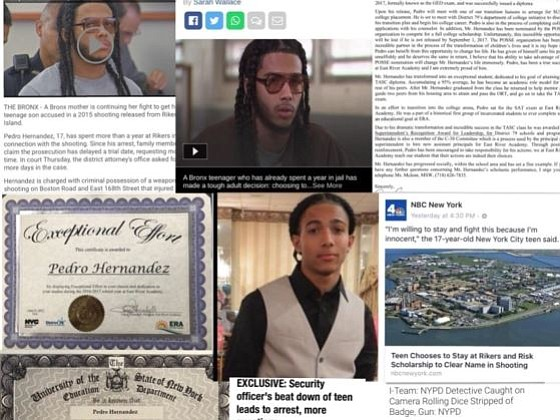 Pedro Hernandez, an honors student jailed at Rikers and who was at risk of losing his full-ride to college, has ...