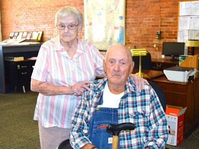 What could be Butts County's oldest set of living twins celebrated their 91st birthday by doing exactly what they chose ...