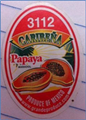 The Maryland Department of Health is warning consumers to avoid eating Caribeña's yellow, Maradol papayas because of potential contamination with ...