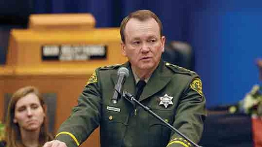 The Los Angeles County Sheriff's Department this week began investigating an allegation against a sworn employee of misconduct involving a ...