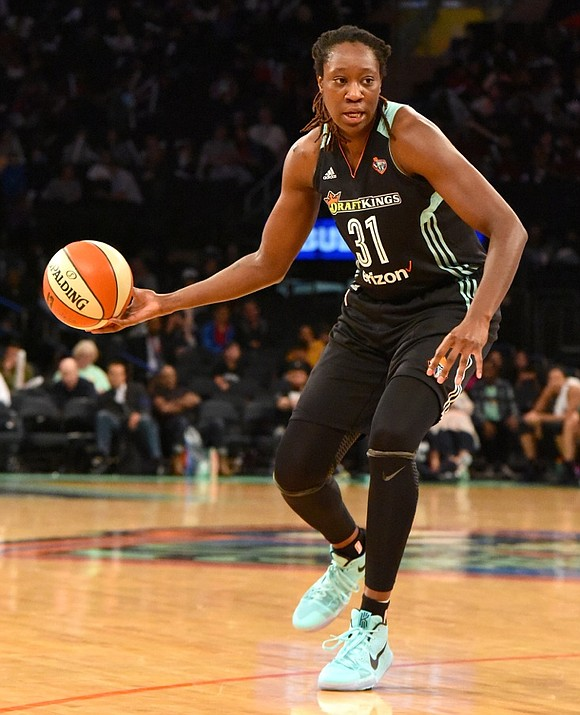 With a commanding 92-62 win over the Chicago Sky on Sunday afternoon, the New York Liberty not only won its ...