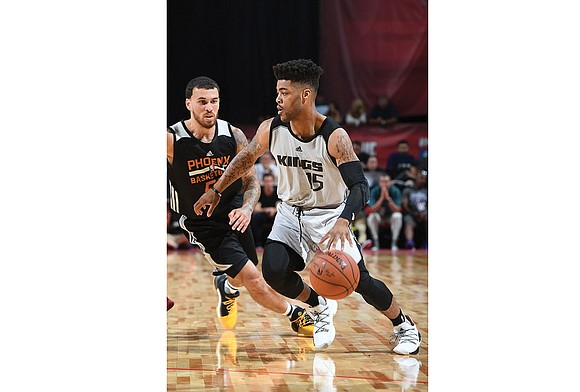 Frank Mason III's aspirations of playing with the NBA's Sacramento Kings are looking up. The former Petersburg High School and ...