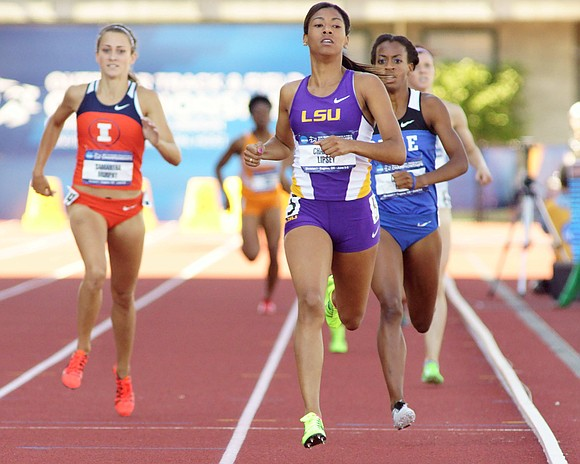 The top track and field athletes from around the world are getting their final practices in before the IAAF World ...