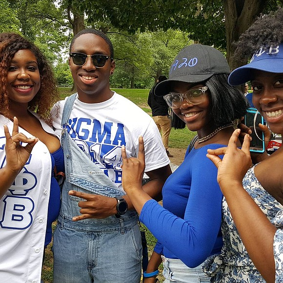Phi Beta Sigma Fraternity, Inc. and Zeta Phi Beta Sorority, Inc. hosted their annual Blue and White Picnic in Prospect ...