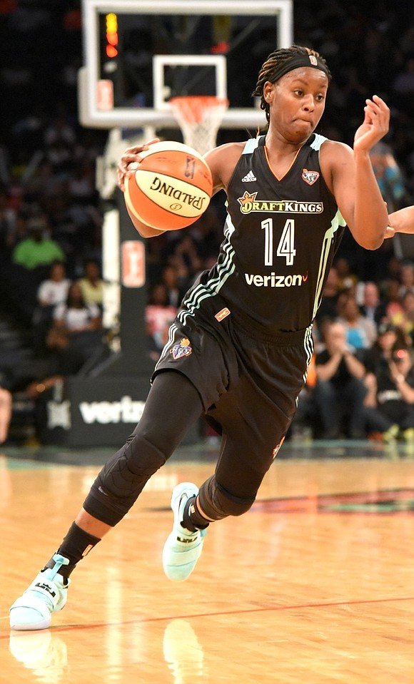 """We know who we are physically,"" said New York Liberty coach Bill Laimbeer after the Liberty's fifth consecutive win, a ..."