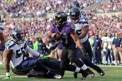 Baltimore Ravens third-year running back Buck Allen has experienced a roller coaster during his first two years in the NFL. ...