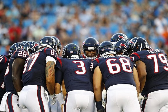 At last, the wait is over. Football is back. The Houston Texans opened the preseason against the Carolina Panthers in ...