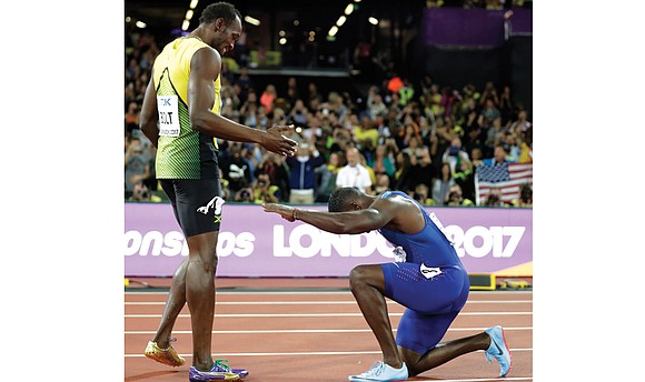 For the first time in nearly a decade, the world's fastest man isn't named Usain Bolt. Justin Gatlin has regained ...