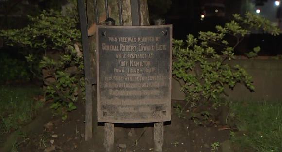 Leaders of a New York Episcopal diocese removed two plaques honoring Confederate Gen. Robert E. Lee from the grounds of ...