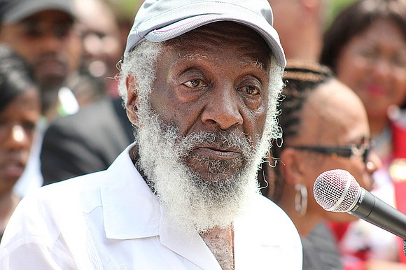The entertainment world mours the Aug. 19 death of comedian and civil rights activist Dick Gregory in Washington, D.C. A ...