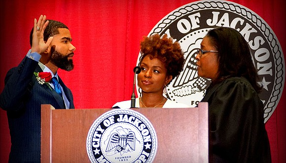 Chokwe Antar Lumumba became the youngest mayor in the history of Jackson, Miss., when he was sworn-in last month in ...