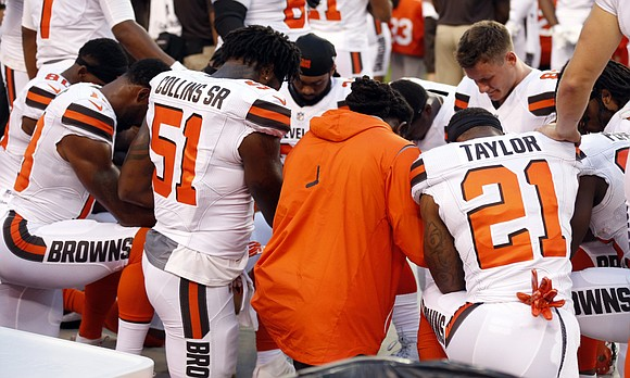 Seattle Seahawks defensive end Michael Bennett sat for the national anthem during the Seahawks' first two preseason games — something ...