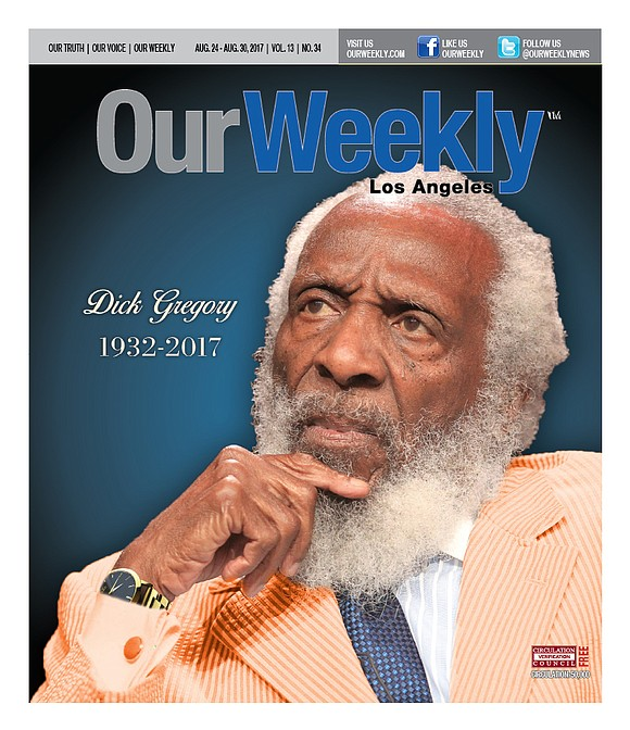 Ground breaking comedian, activist, and entrepreneur Dick Gregory has died at the age of 84 in Washington, D.C. He had ...