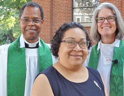 The Reverend M. Dion Thompson has joined St. Anne's of Annapolis as the Associate Priest for Pastoral Care.