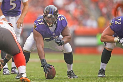 The Baltimore Ravens traded center Jeremy Zuttah to the San Francisco 49ers in March of 2016.