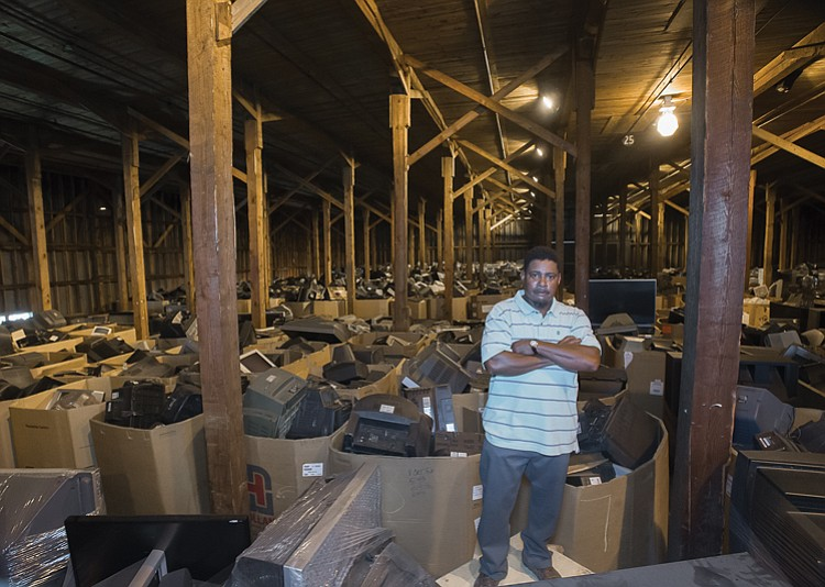 Warehouse 25 At Clopton Siteworks On South Side Is The Best Evidence That Central Virginia