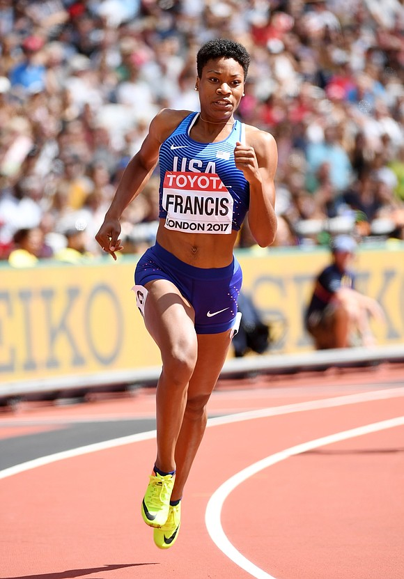 Although Queens native Phyllis Francis is an Olympic gold medalist (4x400 relay in Rio), she headed into the women's 400-meter ...