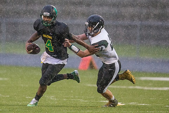 There are signs Huguenot High School football has weathered the storm, and not just because the team's latest victory was ...