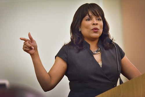 Multnomah County Commissioner Loretta Smith has thrown her name into a May election for Portland City Council seeking a position ...