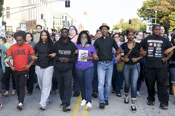 St. Louis is yet again the epicenter in the nation for protests and demonstrations in the wake of another white ...