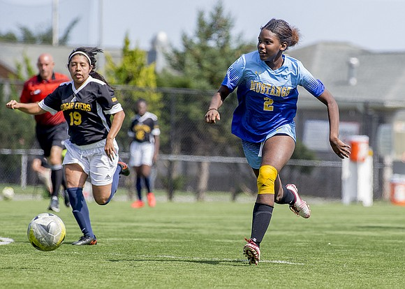 Soccer is a high-profile sport at Monroe College in New Rochelle, and the women's soccer team is showcasing some stellar ...