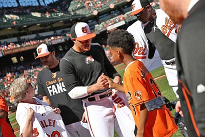 Fan appreciation weekend to highlight final Orioles homestand of the 2017 season