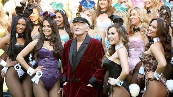 "Hugh Hefner -- the silk-robed Casanova whose Playboy men's magazine popularized the term ""centerfold,"" glamorized an urbane bachelor lifestyle and ..."