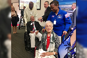 A new facility at the NASA Langley Research Center is named after Katherine G. Johnson