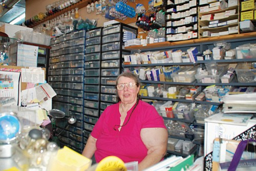 Kay Newell, owner of iconic light bulb shop Sunlan Lighting, Inc. on North Mississippi Avenue, has been brightening people's lives ...