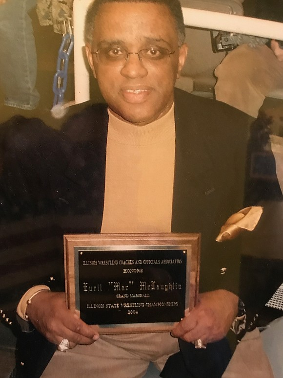 """Joliet Central High School's Eural McLaughlin, fondly known as """"Coach Mac,"""" carries a legacy amongst generations of students, alumni and ..."""