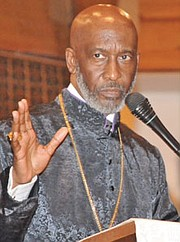 Retired Bishop John H. Bryant will deliver a guest sermon (3:30 p.m. service) as part of Trinity A.M.E.'s 136th Church Anniversary celebration.