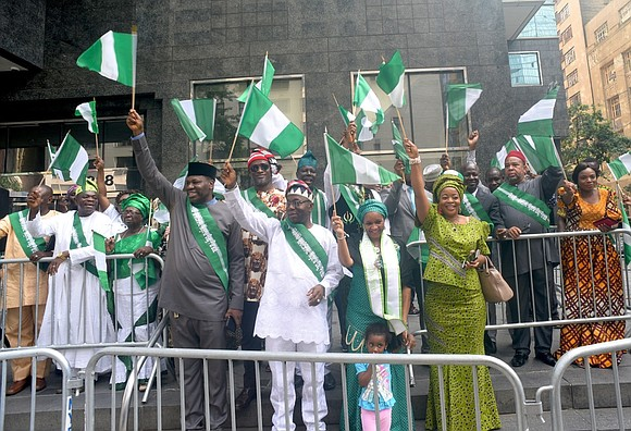 Saturday, Oct. 7, 2017, people came from all over the nation to celebrate the 57th anniversary of Nigeria's Independence Day ...