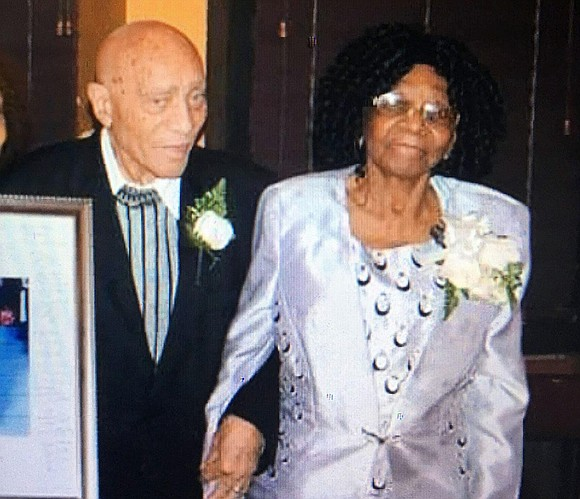 A man has been arrested after a 91-year-old man was killed and his 100-year-old wife injured in a Brooklyn home ...