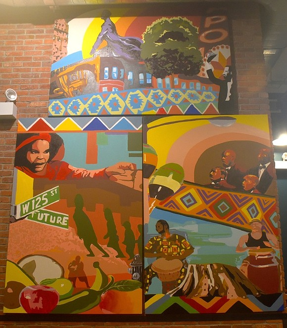 There was an official dedication of the public artwork, Harlem: Past, Present, Future, at Whole Foods Market Harlem Wednesday, Oct. ...