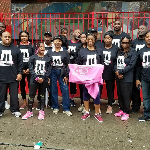 In the spirit of Breast Cancer Awareness Month, Bed-Stuy-based 500 Men Making a Difference hosted their annual Breast Cancer Walk ...