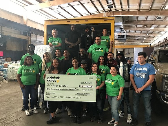 Cricket Wireless and Trae Tha Truth teamed up to continue relief efforts in the Houston-area following the devastation of Hurricane ...
