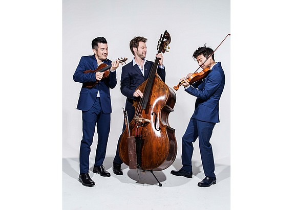 The Richmond Symphony continues its 60th anniversary celebration with music by Time for Three in an 8 p.m. concert Saturday, ...