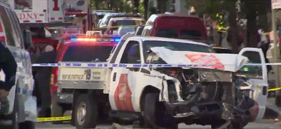 After a 29-year-old man drove a truck into a Manhattan crowd on Tuesday, killing eight and wounding almost a dozen ...