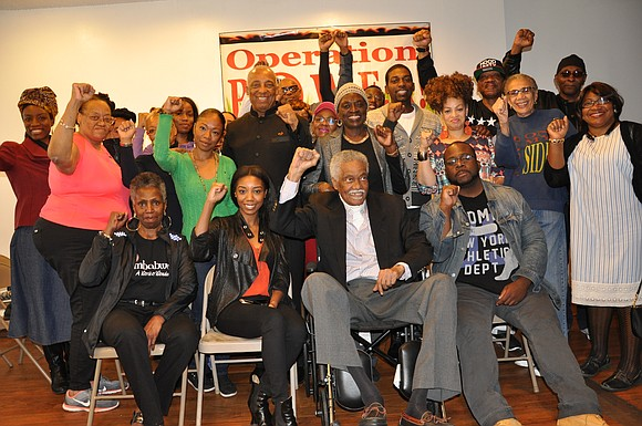Oct. 28, Operation People Organizing and Working for Empowerment and Respect honored Dr. Carlos Russell, the founder of Black Solidarity ...