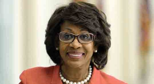 Rep. Maxine Waters (CA-43), ranking member of the House Financial Services ..